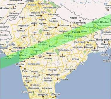 Future Total Eclipse Map.Some Total Solar Eclipses Observed From India Indian Institute Of