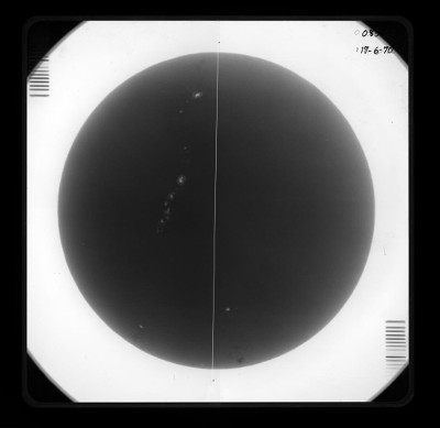 Loading Image of Full-disk Photoheliograph